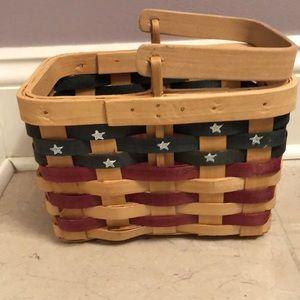 🆕 American Flag Basket- small